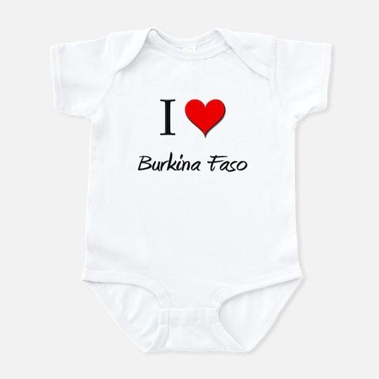 I Love Burkina Faso Infant Bodysuit