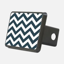 Blue, Grey: Chevron Patter Hitch Cover