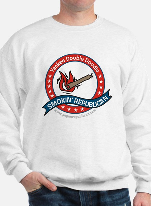 Smokin Republican Sweatshirt
