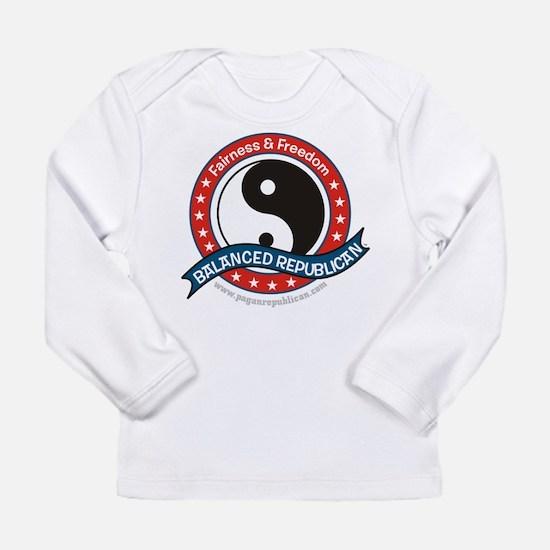 Balanced Republican Long Sleeve Infant T-Shirt
