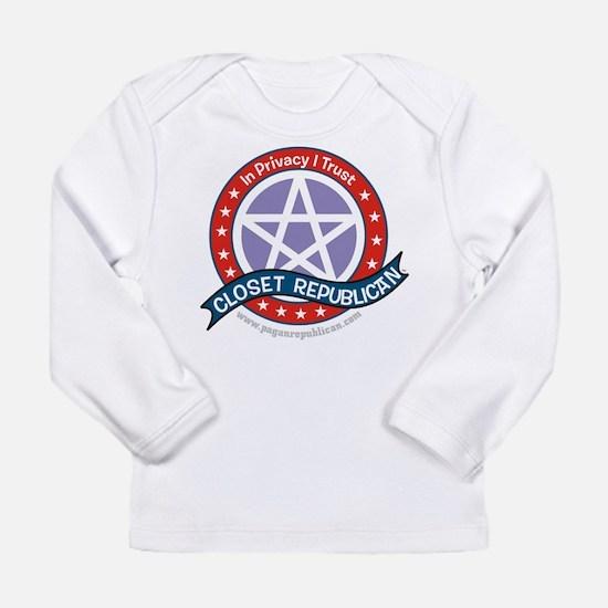 Closet Republican Long Sleeve Infant T-Shirt
