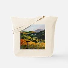 Coastal Sonoma Vineyard Tote Bag