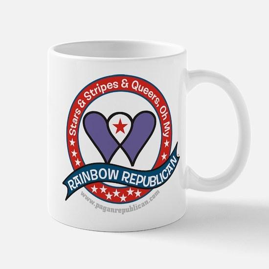 Rainbow Republican Mug