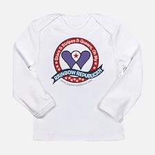 Rainbow Republican Long Sleeve Infant T-Shirt