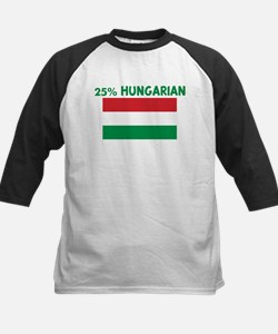 25 PERCENT HUNGARIAN Kids Baseball Jersey