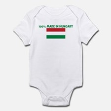 100 PERCENT MADE IN HUNGARY Infant Bodysuit
