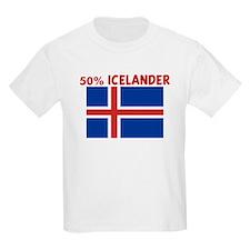 50 PERCENT ICELANDER T-Shirt