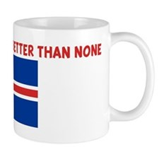 50 PERCENT ICELANDER IS BETTE Mug