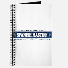 SPANISH MASTIFF Journal
