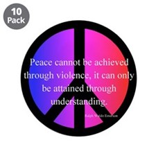 """Peace 3.5"""" Button (10 pack)"""