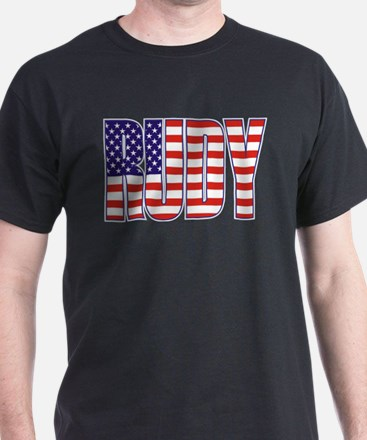 Rudy Giuliani Presidential Flag T-Shirt
