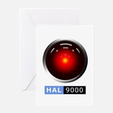 HAL 9000 Greeting Cards