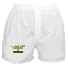 100 PERCENT MADE IN INDIA Boxer Shorts