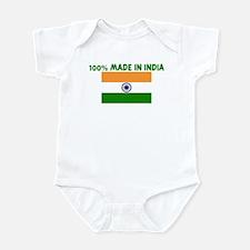 100 PERCENT MADE IN INDIA Infant Bodysuit