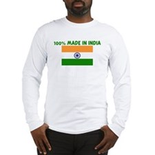 100 PERCENT MADE IN INDIA Long Sleeve T-Shirt