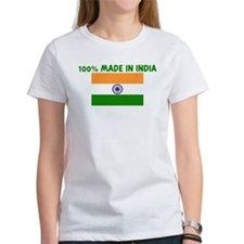 100 PERCENT MADE IN INDIA Tee
