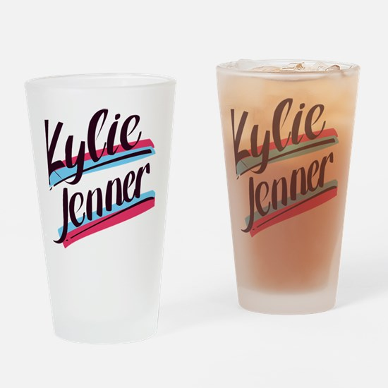 Cute Kylie Drinking Glass