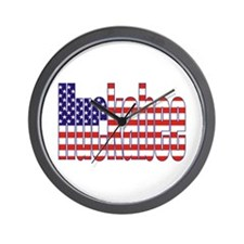 Mike Huckabee President Flag Wall Clock