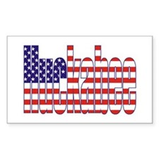 Mike Huckabee President Flag Rectangle Decal