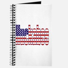 Mike Huckabee President Flag Journal