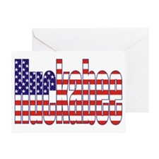 Mike Huckabee President Flag Greeting Card