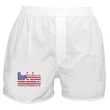 Mike Huckabee President Flag Boxer Shorts