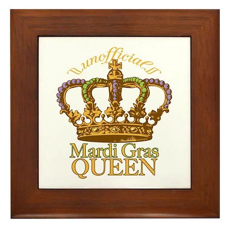 Unofficial Queen Framed Tile