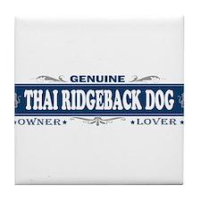 THAI RIDGEBACK DOG Tile Coaster