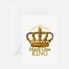Unofficial King Greeting Card