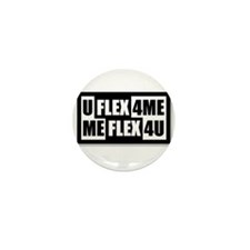Bicep flex Mini Button (10 pack)