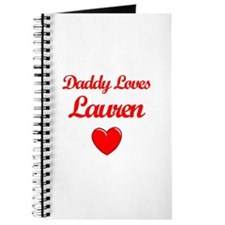 Daddy Loves Lauren Journal