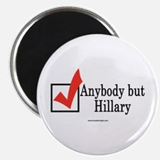 Anybody but Hillary Magnet