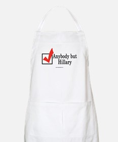 Anybody but Hillary BBQ Apron
