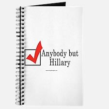 Anybody but Hillary Journal