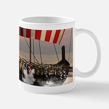 The viking longship Mugs