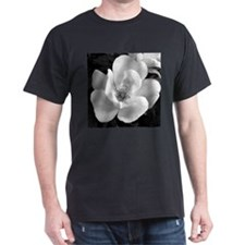 Black and White Rose T-Shirt