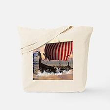 The viking longship Tote Bag