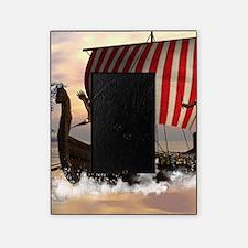 The viking longship Picture Frame