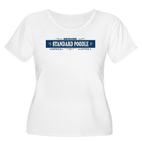 STANDARD POODLE Womens Plus-Size Scoop Neck T