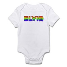 Elvia Gay Pride (#004) Infant Bodysuit