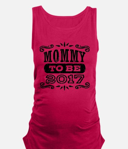 Mommy To Be 2017 Tank Top