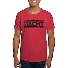 Wissen ist Macht (black) T-Shirt