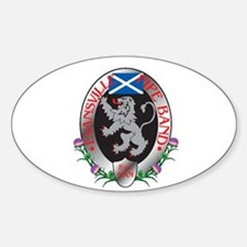 Evansville Pipe Band Oval Decal