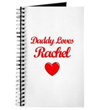 Daddy Loves Rachel Journal