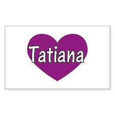 Tatiana Rectangle Decal