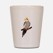 Cockatiel Shot Glass