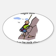Rock Climbing designs Decal
