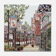 State Street In Bristol, Va Tile Coaster