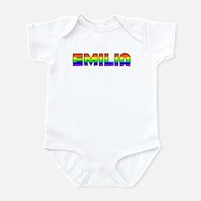 Emilia Gay Pride (#004) Infant Bodysuit