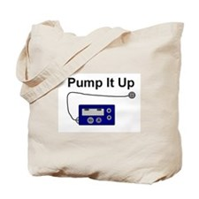 """Pump It Up"" Tote Bag"